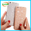 Do espelho Diamond-Shaped TPU do Glitter de Hotselling caixa macia para o iPhone 7/6s/6