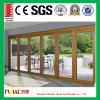 Porte en aluminium commerciale de case