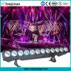 12*25W Rgbawの穂軸LEDのマトリックスの照明聴衆の視覚を妨げるものライト