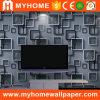 Papier peint de la chambre à coucher 3D de PVC de matériau de construction