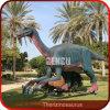 Parque temático del dinosaurio de la atracción de la visualización del dinosaurio