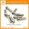 Ss Oro Proveedor A4-80 5/8 Cabeza de botón Tornillos hexagonales Hex