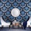 Papel de empapelar casero de lujo del diseño del nuevo diseño 2017 moderno