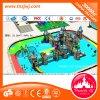 Corrediça do parque do campo de jogos dos miúdos plásticos comerciais do castelo do parque grande