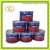 In Büchsen konservierte Tomate-Großverkauf-Pasten-Qualitäts-in Büchsen konservierte Nahrung