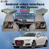 Поверхность стыка GPS автомобиля Android для Audi с первоначально переключателем для того чтобы изменить экран