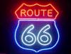 Nieuwe Route 66 Bar Sign19X15 van Handcraft van de manier van de Staaf van het Neonlicht van het Glas van het Bier de Echte
