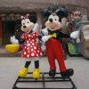 ガラス繊維MickeyおよびMinnie Figure Mascot