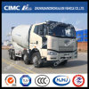 8*4 FAW Conccrete/Cement Mixer Truck com Euro2/3/4/5 Emission
