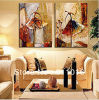 Pittura a olio di Wall Art Pictures dei 2 pannelli su Canvas Home Decoration Ballet Dancer Artwork The Picture Decor Painting & su Calligraphy