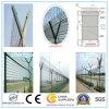 Barriera di sicurezza della rete fissa saldata aeroporto della rete metallica/della rete fissa filo del rasoio