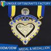 Prix de gros 2017 d'usine pour la médaille en métal avec la qualité