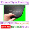 Azulejo de suelo durable del ejercicio casero de goma de la gimnasia
