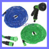 25ft 50ft 75ft Ultralight Flexible 3X Expandable Garden Magic Water Hose Pipe + Faucet Connector + Fast Connector + Multifunctional Spray Nozzle