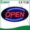 Het LEIDENE Open LEIDENE van het Teken Uithangbord van de Straat (HSO0017)