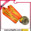 De luxe Medaille van het Metaal met Kleurrijk Lint