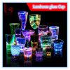棒のためのクリスマスの誕生日の昇進のギフトカラーガラスコップ点滅LEDの多彩な党/パブ/KTVの明るいワイングラスのコップ