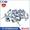 Ajustage de précision hydraulique de tuyau de 10411 mâles de qualité de joint à haute pression métrique de connecteur