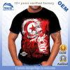 T-shirt impressos lembrança personalizados OEM do algodão do turismo