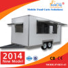 Calle Food Trolley para Sale Hot Dog/Coffee/Juice/Milk con Highquality