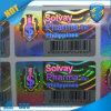 Etiquetas engomadas 2015 de Securiyt del holograma/rasguño de la etiqueta engomada