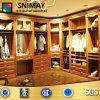 Les meubles en bois de Chambre de garde-robe de chambre à coucher de mélamine vêtent le cabinet de stockage