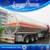 경량 반 디자인 45-60 Cbm 알루미늄 연료 탱크 트레일러