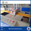 Máquina de la protuberancia del perfil del panel de pared del PVC