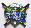 Pin di metallo personalizzato smalto molle (MJ-Pin-155)