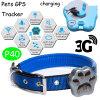 3G mini traqueur imperméable à l'eau des animaux familiers GPS avec le collier (P40)