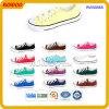 Вскользь цветастые ботинки холстины отрезока низкого уровня (RW50565R)