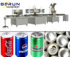 Máquina de rellenar de la bebida para las latas del animal doméstico
