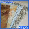 Comitato composito di alluminio di Neitabond con colore di marmo in decorazione della parete della costruzione