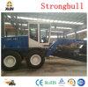 Motor amarillo 180HP de China graduador del motor de 16 toneladas