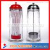 Freie Glaskarosserie mit Edelstahl-Schutzkappen-Stroh-Zufuhr