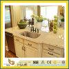 Partie supérieure du comptoir Polished de granit d'or de qualité pour la cuisine/salle de bains (YQC)
