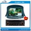 206 GPS para el coche de Peugeot con la radio de Bluetooth (Z-2922)