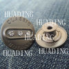 Tecla personalizada do metal das calças de brim com Rhinestone (HD1110-15)