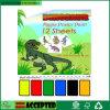 Âge magique 4+ de livre d'affiche de peinture de feuilles des affiches 12 de peinture de dinosaur