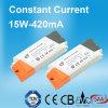 15W 420mA konstante Stromversorgung des Bargeld-LED mit TUV SAA