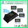 12V / 24V 30A controlador de carga solar con pantalla LCD