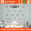 Carving fino Embossed Wall Paper para Home Decoration