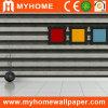 papier peint de vinyle de PVC de l'effet 3D pour le matériau de construction