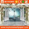 Peintures murales de mur de papier peint de PVC d'Aadhesive d'individu de décoration de mur