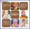 Crianças da banana do bebê do silicone do produto comestível que treinam o Toothbrush