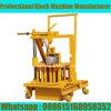 Qt40-3c Petit Movable Bloquer la machine