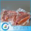 Haut sachet en plastique transparent de vide de barrière pour le conditionnement de la viande