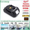Батарея електричюеского инструмента высокого качества 18V 3000mAh для Makita Bl1830
