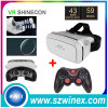 Phone를 위한 Bluetooth Gamepad + Vr Shinecon Virtual Reality 3D Glasses