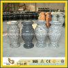 Vaso de flor do granito G664/G654/G603 para a pedra memorável